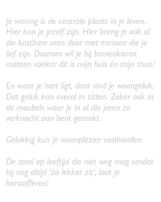 Herstofferen.nl voor het (her)stofferen van meubels!